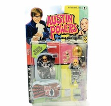 Austin Powers action figure toy Mcfarlane Mike Myers Dr Evil Mini Me sen... - $39.55