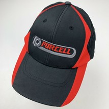Purcell Tires Black Red Adjustable Adult Ball Cap Hat - $12.86