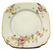 c1920 Royal Albert Thomas Wild 8380 7.75 Inch Square Plate - $19.36