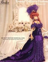 1883 Age Of Innocence Beaded Dress Paradise 103 Barbie Doll Crochet PATT... - $7.17
