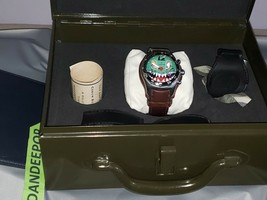 Limited Special Edition Corum Bubble Dive Bomber Watch In Metal Case 082.180.20 - $4,336.19