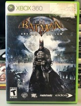Batman Arham Asylum (Xbox 360, 2009), Tested, FREE SHIPPING, USA Seller - $7.00
