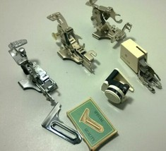 lot of 6 Vintage Sewing Machine Attachments Singer - $29.69