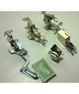 lot of 6 Vintage Sewing Machine Attachments Singer - $29.75