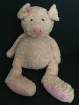 Animal Adventure Pig Plush 2017 Stuffed Animal Large Pale Pink Soft Toy - $39.59