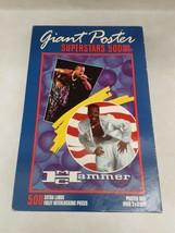 MC Hammer 500 Piece Puzzle Vintage 1990 Poster Size 2x3 Feet Milton Bradley - $24.65