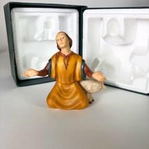 """1989 Franklin Mint The Nativity Shepard Figure 5"""" tall - $29.70"""