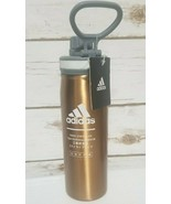 ADIDAS  SPORTS WATER BOTTLE TUMBLER Rose Gold- STAINLESS STEEL - HOT COL... - $19.59