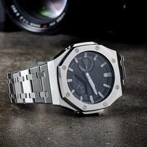 GA2100 Metal Watch Strap Case 2rd Generation Modification for Casio G-Sh... - $48.19+