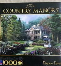 2011 Sure Lox 1000 pc Country Manors jigsaw puzzle titled WOODLAND COTTAGE - $5.89