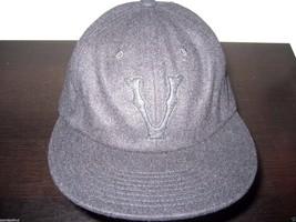 Vans Shoes Snider Hat All Black adjustable wool blend Cap NWT Free Ship Vintage - $21.77