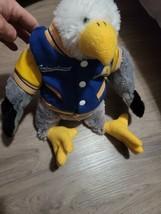 2007animaland bald eagle plush w/ jacket 16 inches - $34.65