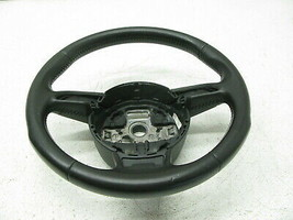 GRAY 13-16 AUDI 8T A5 S5 RS5 A4 STEERING WHEEL 3 THREE SPOKE LEATHER OEM... - $97.96