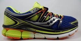 Saucony Triumph ISO Size: US 13 M (D) EU 48 Men's Running Shoes Blue S20262-1