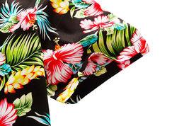 Men's Tropical Aloha Beach Party Hawaiian Luau Button Up Casual Dress Shirt XL image 4