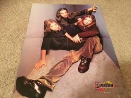 Nick Carter Hanson Backstreet Boys teen magazine poster clipping As long as you