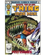 Marvel Two-In-One Comic Book #97 The Thing and Iron Man, Marvel 1983 VER... - $1.99
