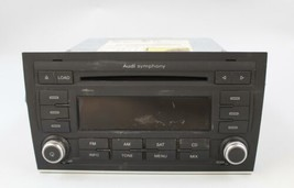 06 07 08 AUDI A4 AM/FM RADIO CD PLAYER RECEIVER 8E0035195AF OEM - $94.04
