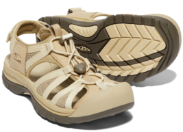 Keen Venice II H2 Taille 7 M (B) Eu 37.5 Sport Femmes Sandales Marron/Beige - $74.59