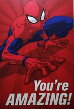 "Spider-Man Greeting Card Birthday ""You're Amazing!"" - $3.89"