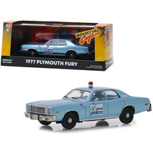 1977 Plymouth Fury Blue Detroit Police Beverly Hills Cop (1984) Movie 1/... - $31.10