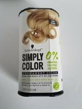 Schwarzkopf Light Blonde Simply Hair Color 9.0  permanent zero ammonia, alcohol - $11.74