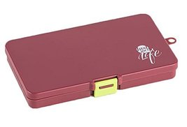 Pocket or Purse Pill Box Medicine Case - $15.05