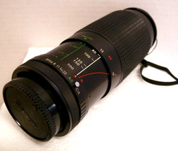 Albinar ADG 80-200mm Macro Zoom MC Lens for Canon 35mm Film Camera - $39.95