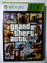 Grand Theft Auto V GTA 5 [Microsoft Xbox 360] feat. Online open world game - NEW - $19.43