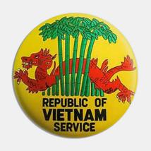 Republic of Vietnam Service Button Pin - $9.89