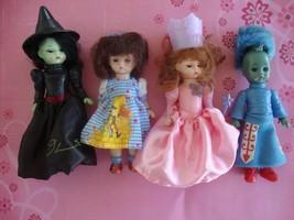 Madame Alexander Wizard of Oz Dolls Lot  McDonald's Witch Guard Dorothy TLC - $9.85