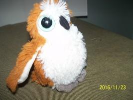 plush owl stuffed small wild bird blue eyes wil... - $19.80