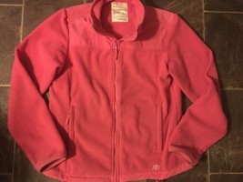 Women's/Juniors Aeropostale jacket size large pink Mark Down During Off ... - $6.99