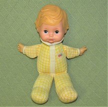 "Vintage Fisher Price HONEY LAPSITTER 1975 12"" BABY DOLL Molded Hair Plus... - $32.73"