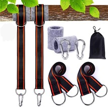 FLY2SKY Tree Swing Strap Hanging Kit Holds 2800lbs 5ft Long - $11.41