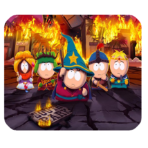 Mouse Pad South Park Cute Cartoon Animation Movie For Funny Fire Video Game - $9.00