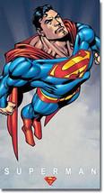 Superman Flying DC Universe Villains and Super Hero Metal Sign - $20.95