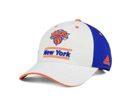 New York Knicks Ny Adidas Mens Playmaker Adj Hat Cap Strap Back New Nba - $19.79