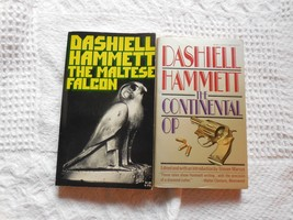 2 by Dashiell Hammett - Maltese Falcon & The Continental Op (shorts) - $19.75