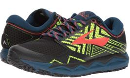 Brooks Caldera 2 Size 11 M (D) EU 45 Men's Trail Running Shoes Black 1102721D429