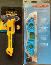 Channellock 620 Professional Level, + Stanley Fatmax Pull Cutter Free Ship - $22.42