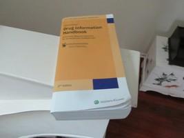 Lexicomp , Drug Information Handbook , 27th Edition , 2018 - $85.00