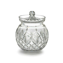 Waterford Crystal Lismore Round Biscuit Barrel New Hand Signed Vincent R... - $201.96