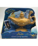 Disney Aladdin Talking Genie Lamp Speaker NEW! Wired MP3 Player - $11.87