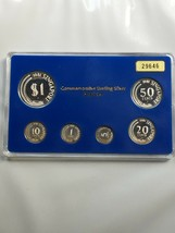 1981 Singapore 6 Coin 1 Cent-$1 Silver Proof Set Lot#B99 Scarce! - $140.25