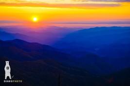 Zen Wall Art, Blue Ridge Parkway, Nature Photos, Mountain Sunset, Blue R... - $30.00+