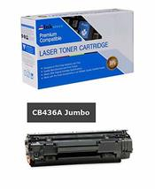 Inksters Compatible Black Toner Cartridge Replacement for HP 36A CB436A(J) Black - $18.60