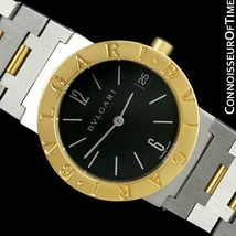 Bvlgari Bvlgari (Bulgari) Mens Midsize Ss Steel & 18K Gold Watch, Bb 30 Sgd - $7 - $1,661.10