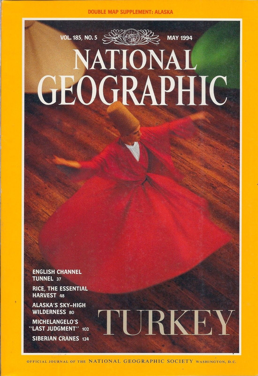 Primary image for National Geographic Magazine May 1994 Supplement Not Included