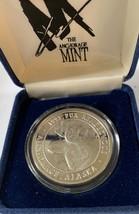 Alaska Fur Rondy1993 Rare Vintage Medallion Silver Medallion Proof 1Oz B... - $118.79